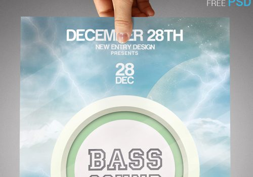 Bass Sound Flyer